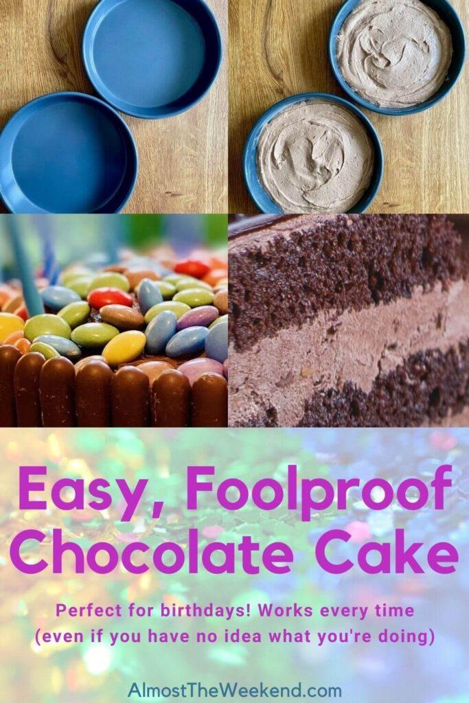 Easy, Foolproof Chocolate Cake