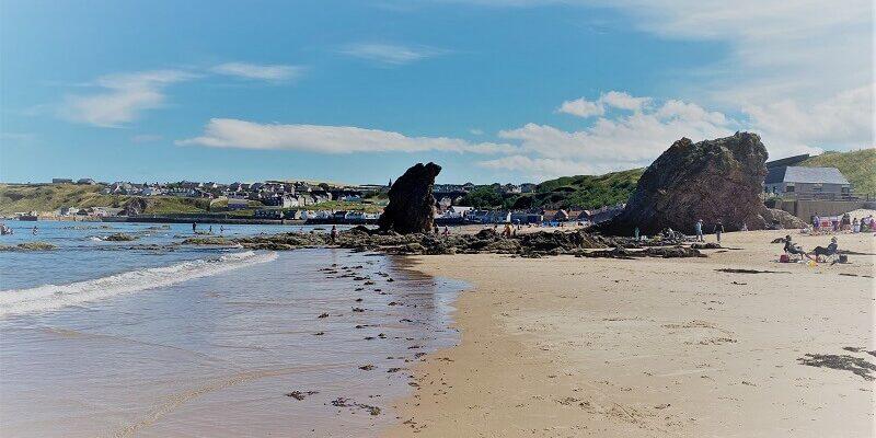 Cullen beach, Moray Firth