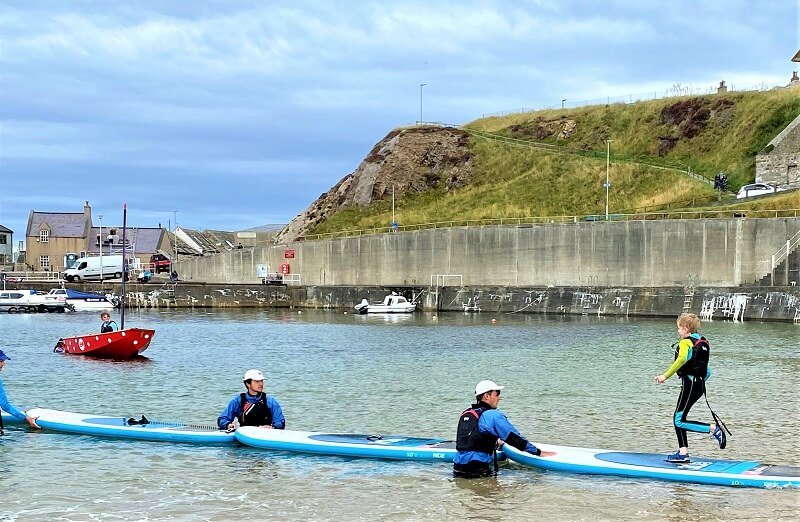 Paddle sports at Cullen Sea School