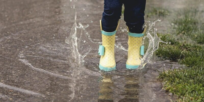 Take a walk in the April showers