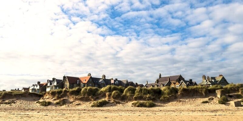 Alnmouth in Northumberland