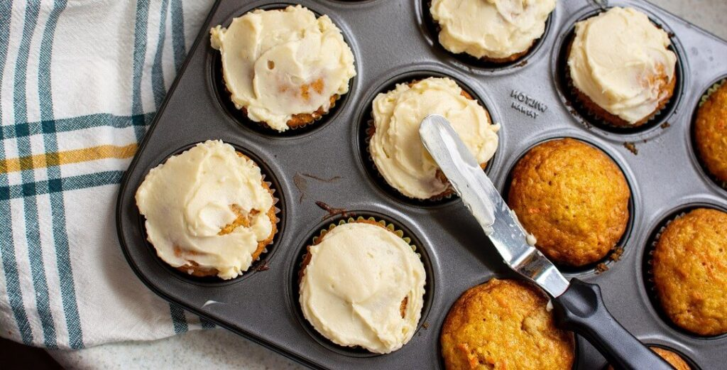 Hygge Baking - Tray of muffins