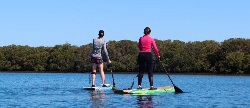 Try paddle boarding this August